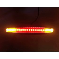 CURVA SUBCHASIS DE 22 mm CON LED DE FRENO E INTERMITENTE CAFE RACER