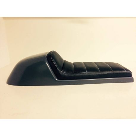 ASIENTO CAFE RACER TUCK NEGRO