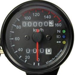 VELOCIMETRO 160KM/H NEGRO CAFE RACER