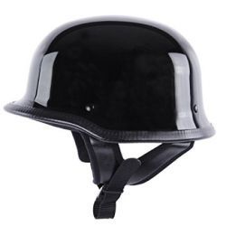 CASCO GERMAN NEGRO BRILLO