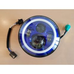 FARO LED NINE T HALO AZUL - 18CM (7'')
