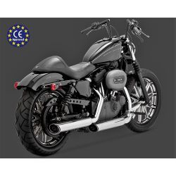 "COLAS SPORTSTER 14 - UP TWIN SLASH 3"" CROMADAS HOMOLOGADAS"