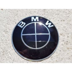 EMBLEMA BMW ORIGINAL 65MM ALL BLACK