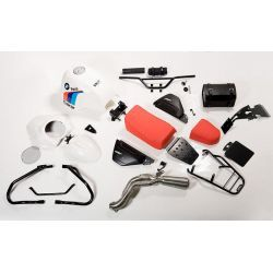 KIT BMW R NINE T PARIS DAKAR CON ACCESORIOS