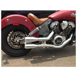 COLAS ESCAPE INDIAN SCOUT, SIXTY Y BOBBER TRASK PERFORMANCE CHROME