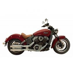 COLAS ESCAPE SUPERTRAPP INDIAN SCOUT, SIXTY Y BOBBER