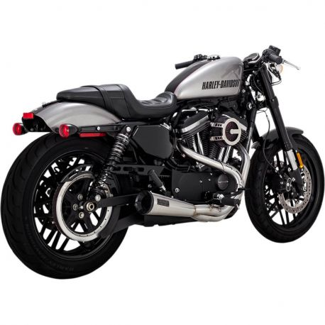 ESCAPE VANCE HINES 2-1 UPSWEEP CROMADO HARLEY DAVIDSON SPORTSTER 04-17