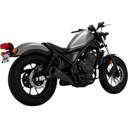 ESCAPE V&H UPSWEEP BLK HONDA REBEL 300/500 17-POST