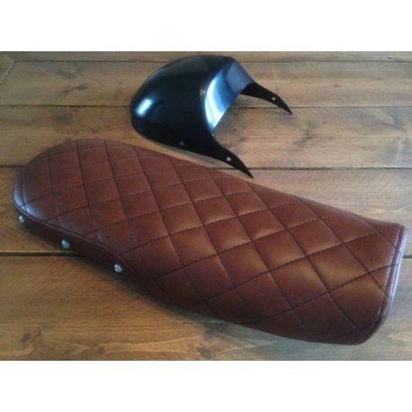 ASIENTO VINTAGE CAFE RACER MARRON CX500