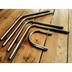 "KIT TUBOS Y CURVA SUBCHASIS CAFE RACER 25,4mm-1""- DIY"