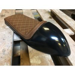 ASIENTO CAFE RACER CHOCOLATE